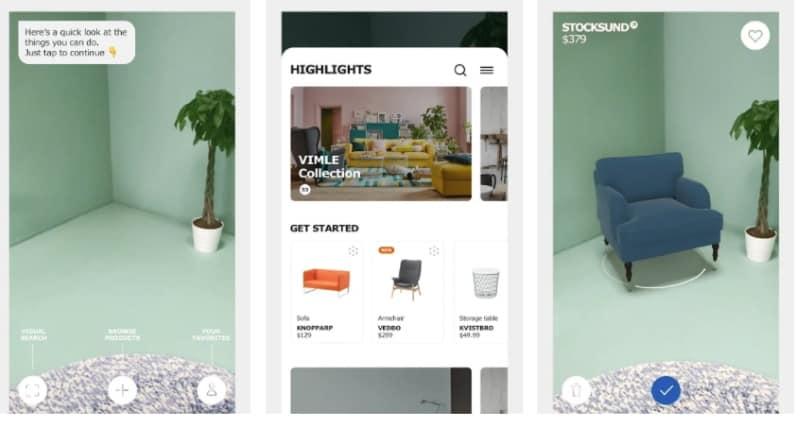 IKEA Place - приложение для виртуальной расстановки мебели