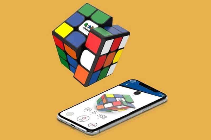 Кубик Рубика с умными функциями