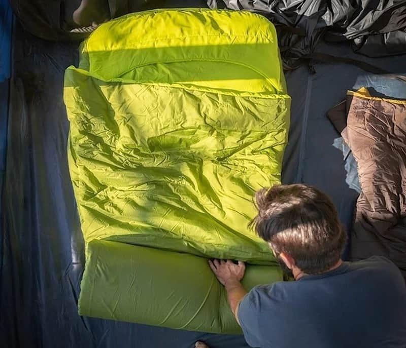 Спальник и коврик в одном Zenbivy MotoBed