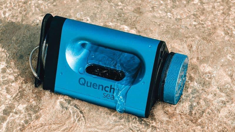 Портативный опреснитель морской воды QuenchSea