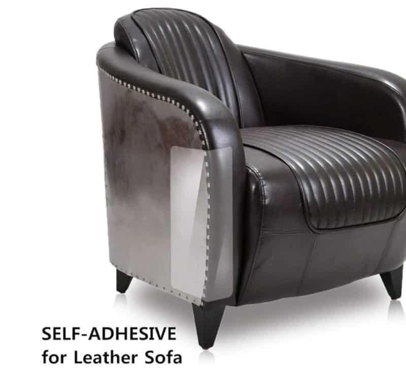 Прозрачная накладка для защиты мебели от когтей животных