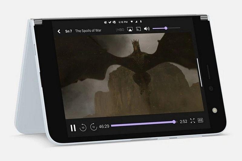 Смартфон с двойным экраном Microsoft Surface Duo