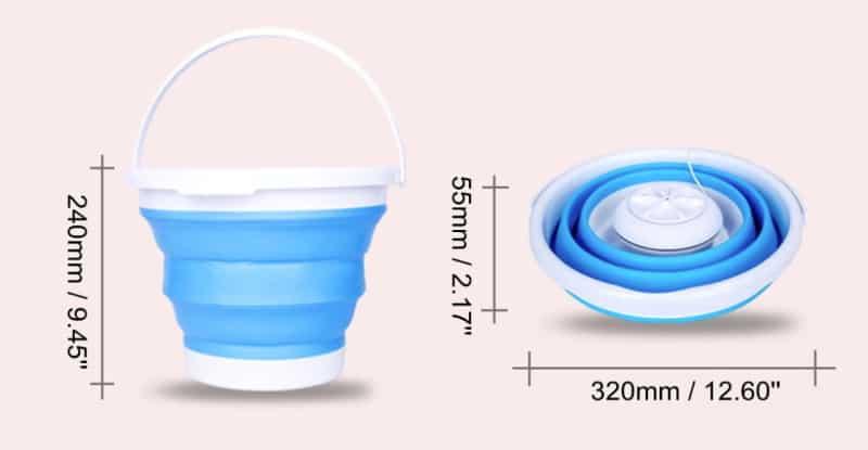 Ультразвуковая стиралка с питанием по USB