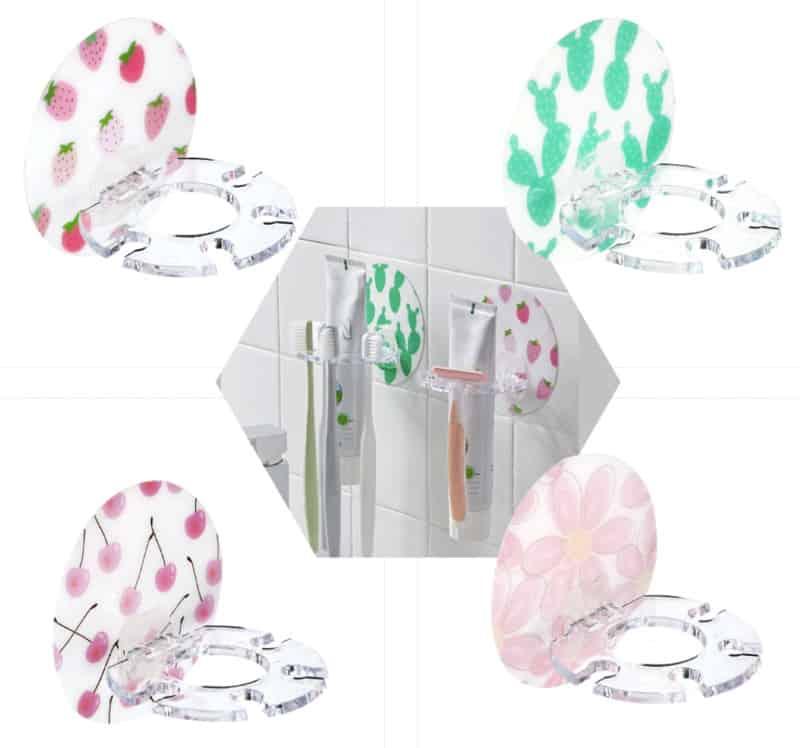 Пластиковый держатель для зубных щёток и тюбика