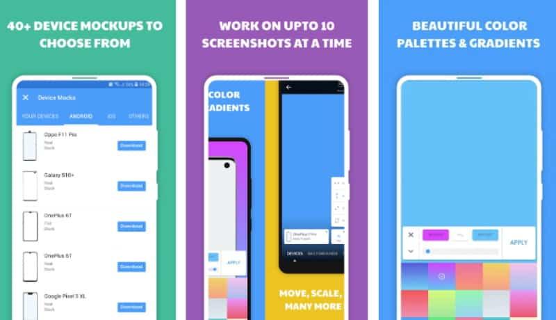 InstaMocks - приложение для украшения мобильных скриншотов