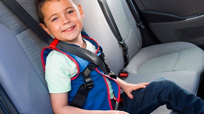 Детская жилетка для пристёгивания в авто WhizRider
