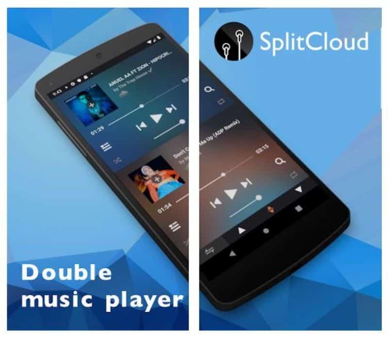 SplitCloud Double Music — приложение для раздельного прослушивания музыки в наушниках