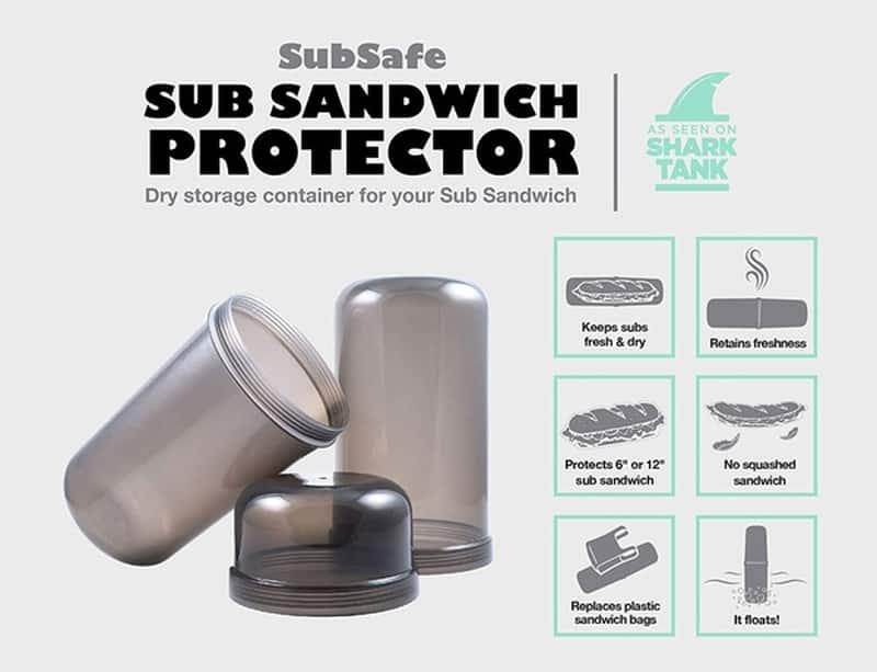 Контейнер для хранения сэндвичей SubSafe