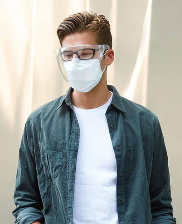 Прозрачная маска на лицо Blocc