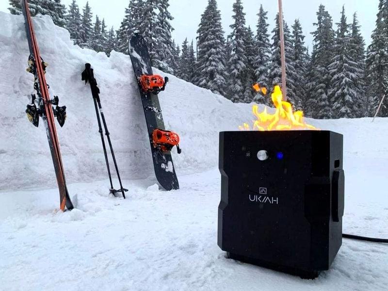 Походная печка с функцией BT-колонки UKIAH Tailgater