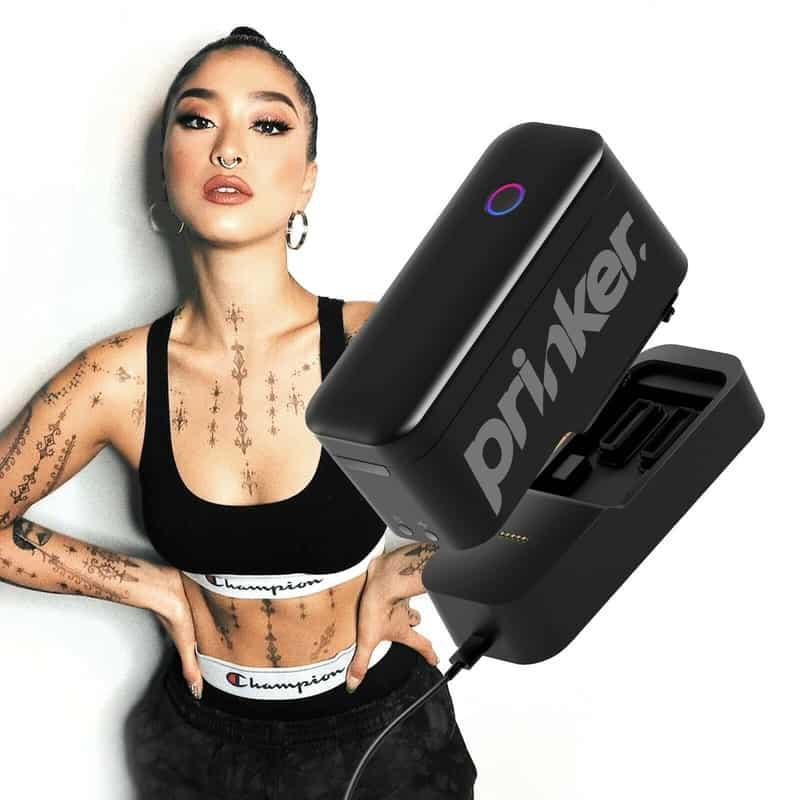 Принтер временных татуировок Prinker