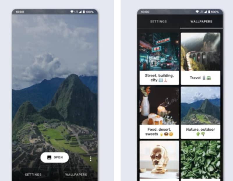 Cover Live Wallpaper - приложение для создания 3D-обоев на телефон