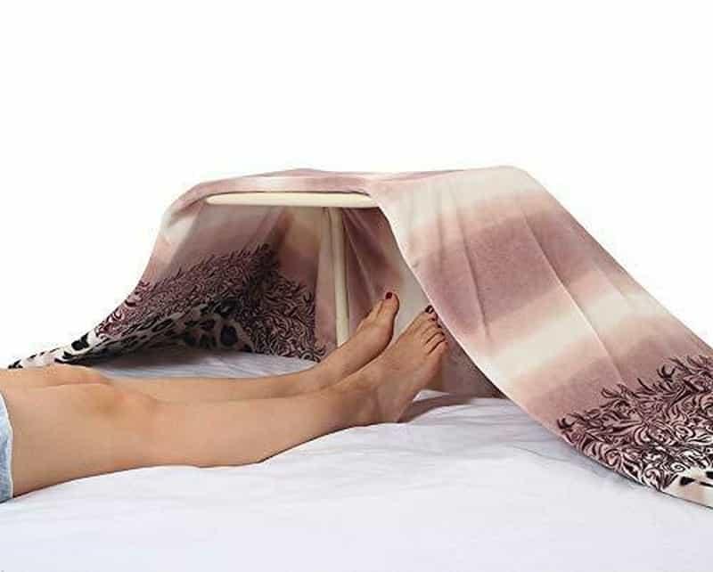 Планка для поддержания края одеяла на весу
