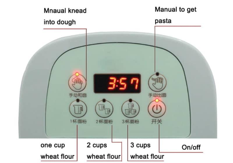 Автоматическая машинка для приготовления лапши