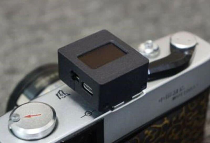 Цифровой измеритель экспозиции для плёночных фотоаппаратов
