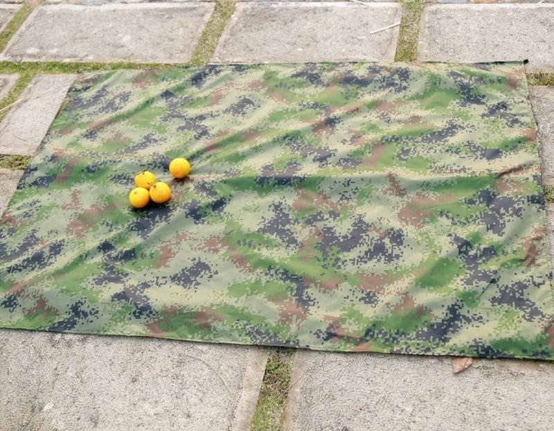 Камуфляжный коврик для пикника