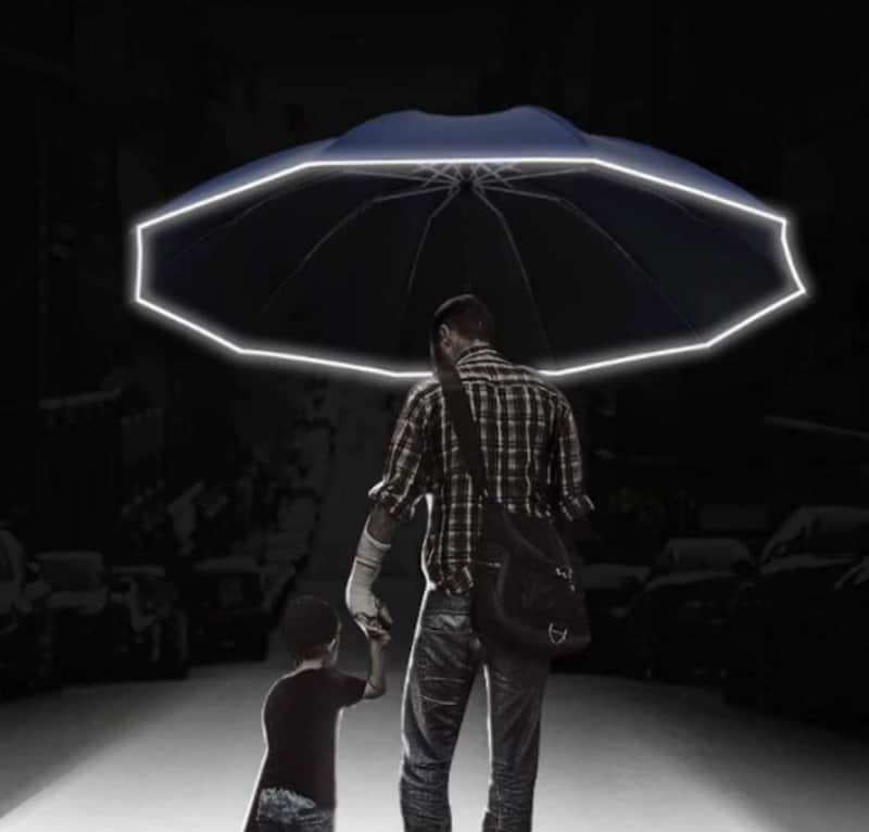 Зонтик со встроенным фонариком YouPin
