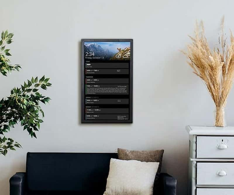 Большой настенный дисплей Dakboard