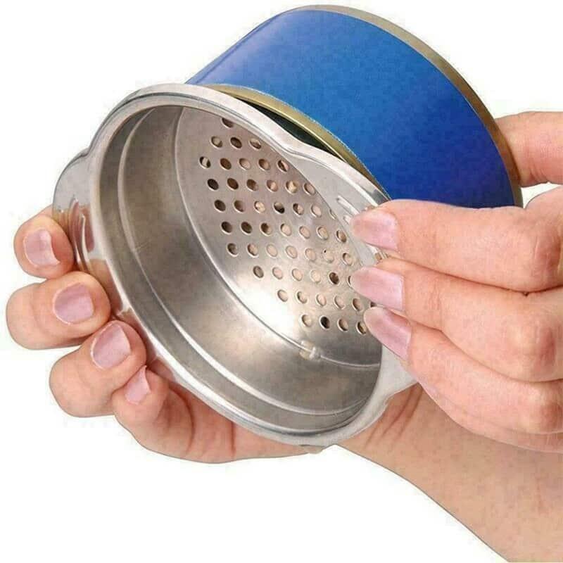 Ситечко для слива жидкости из консервных банок