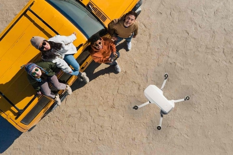 Обновлённая версия дрона DJI Mini 2