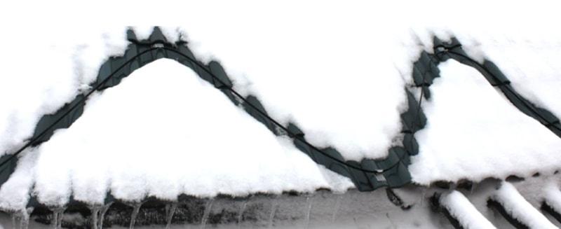 Нагревательный кабель для защиты от оледенения