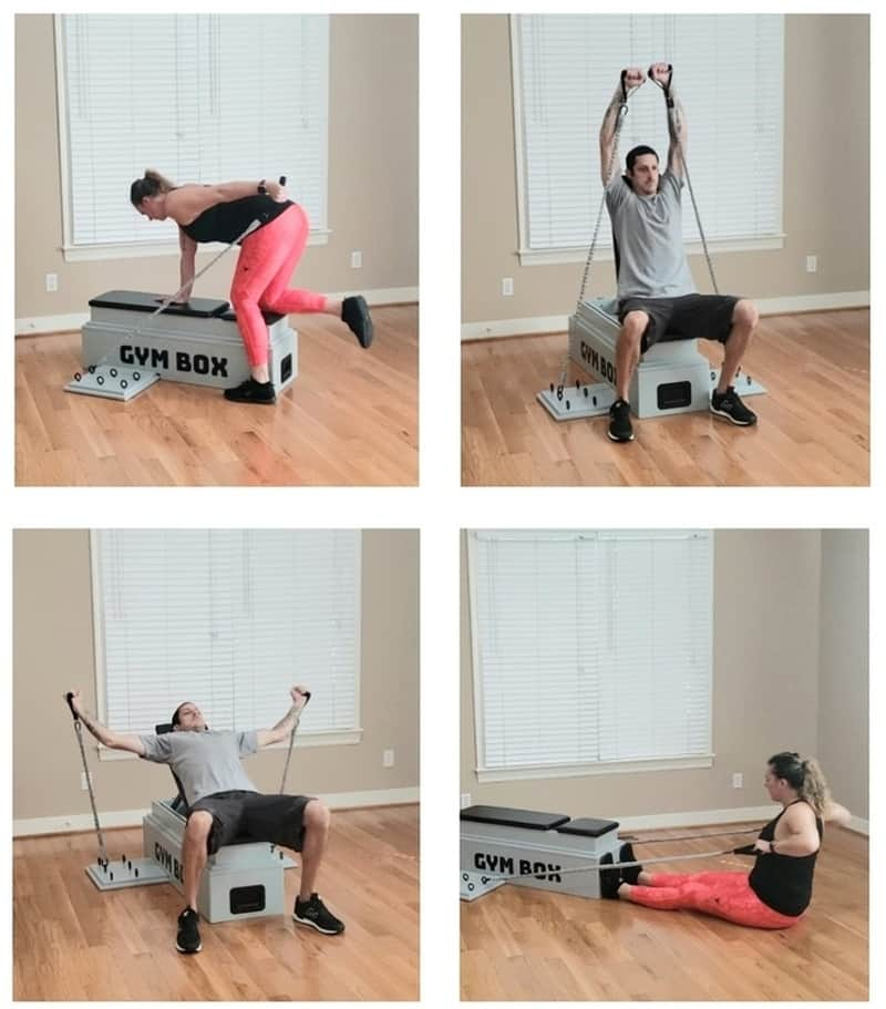 Гимнастический набор для дома Gym Box