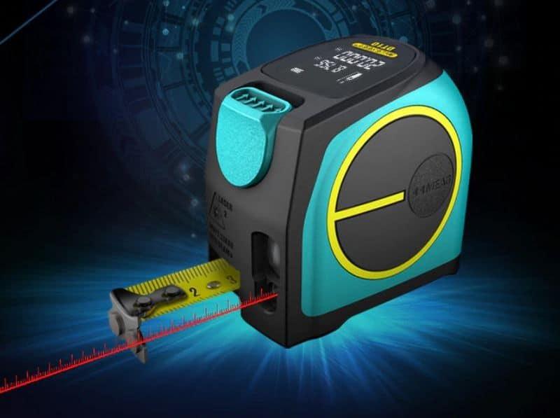 Цифровая рулетка с лазерным дальномером