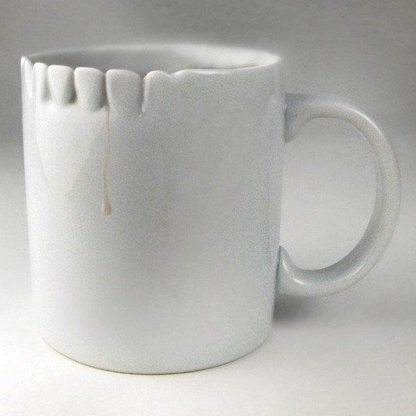 Зубаcтая чашка