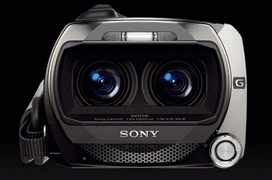 3D видеокамера Sony Handycam HDR-TD10