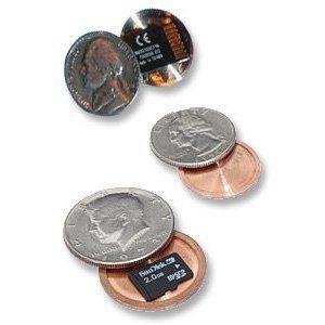 Монеты со скрытым контейнером