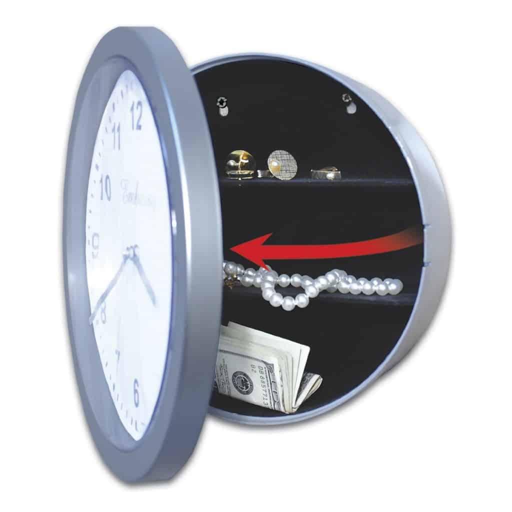 Часы со скрытым контейнером