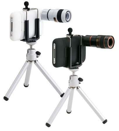 Объектив-телескоп с 8-кратным увеличением для камеры iPhone