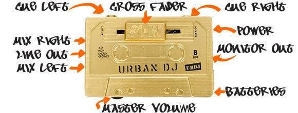 Мини-микшер Urban DJ