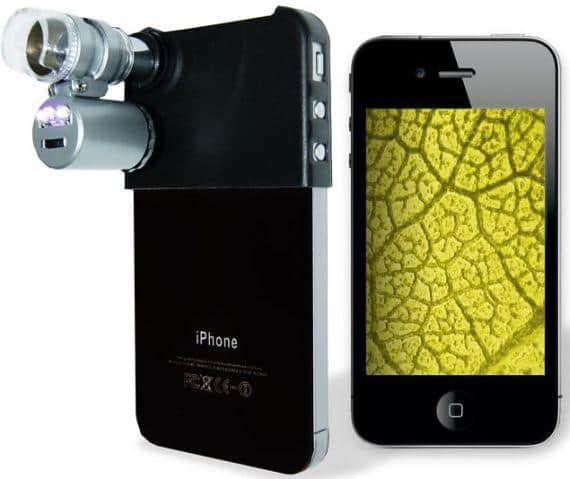 Мини-микроскоп для iPhone 4