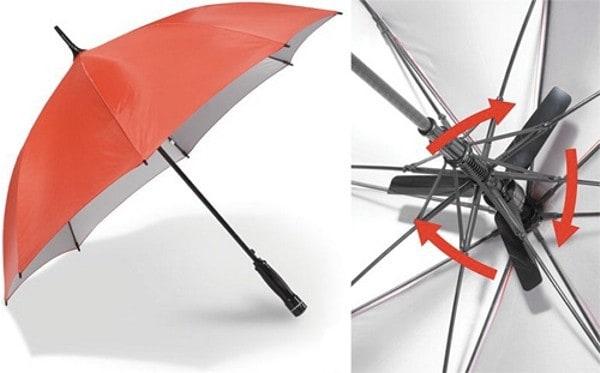 Зонт-вентилятор