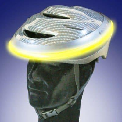 Велосипедный шлем с нимбом