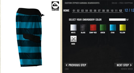 Уникальные купальные шорты от Quiksilver