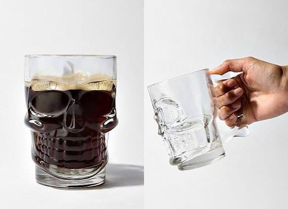 Пивная кружка-череп