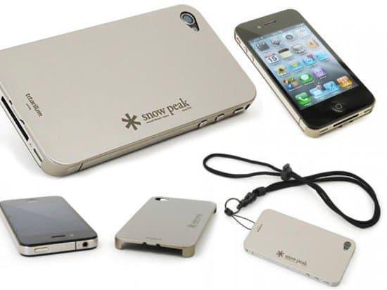 Титановая накладка на iPhone 4