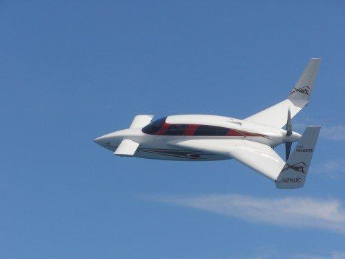 Набор для конструирования легкого самолета Velocity