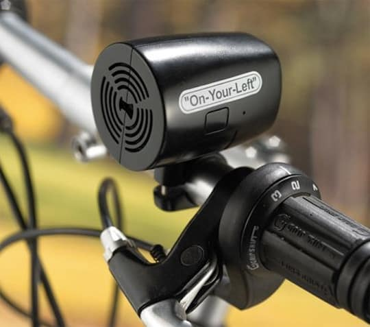 Говорящий велосипедный сигнал