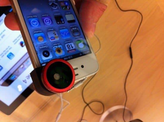 Объектив Olloclip для iPhone 4