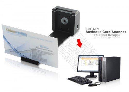 Сканер для визиток
