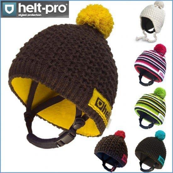 Сноубордерские шапки-шлемы Helt Pro