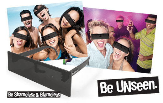 Защитные очки анонимности