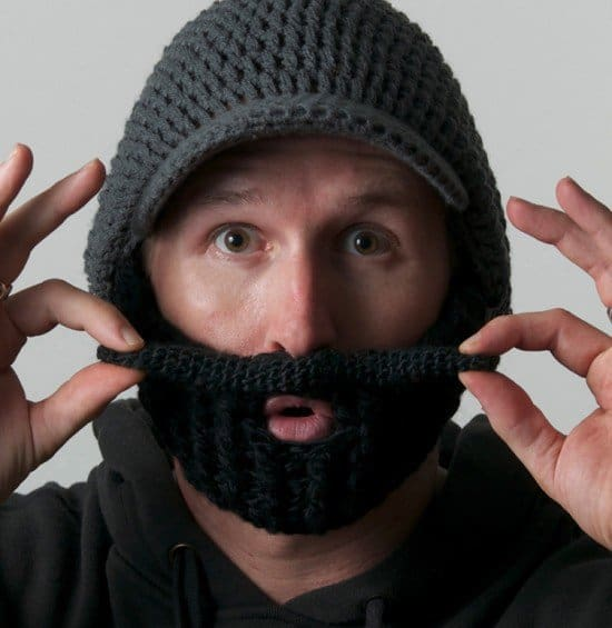 Шапка с бородой Beardo