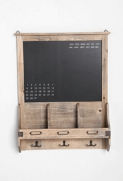 Винтажная классная доска-календарь