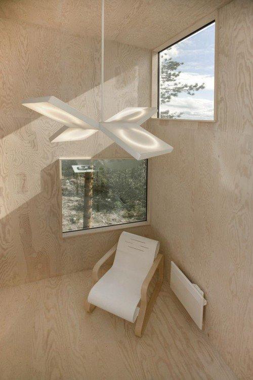 Невидимый отель на дереве Mirrorcube