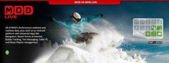 Дисплей для горнолыжных очков MOD Live