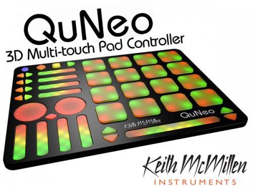 3D мультисенсорный контроллер QuNeo